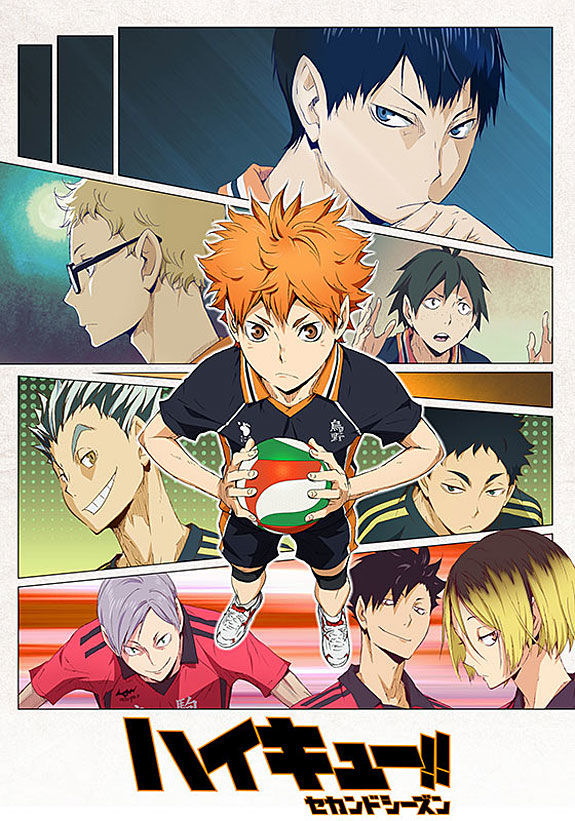 Волейбол!! ТВ-2 / Haikyuu!! TV-2